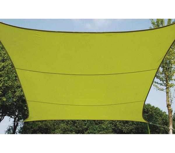 Perel Sonnensegel Viereck, 3,6 x 3,6 m