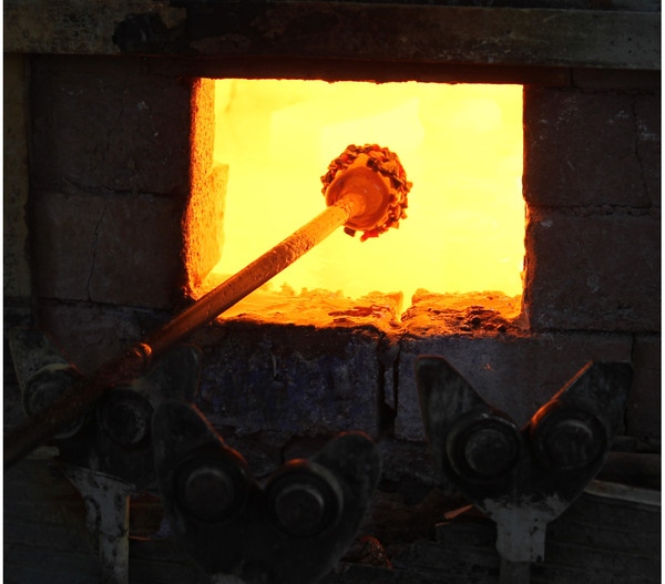 Polczer Glas-Hängespirale, Ø 12 x 40 cm
