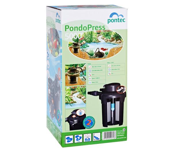 Pontec Druckfilter Set PondoPress 5000
