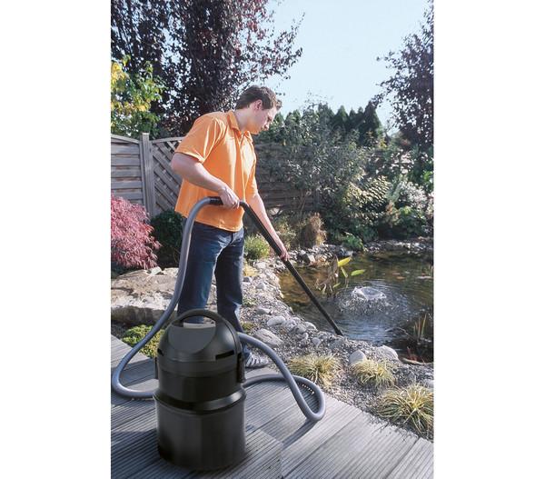 pontec PondoMatic Sauger für Pool und Gartenteich, 1400 W