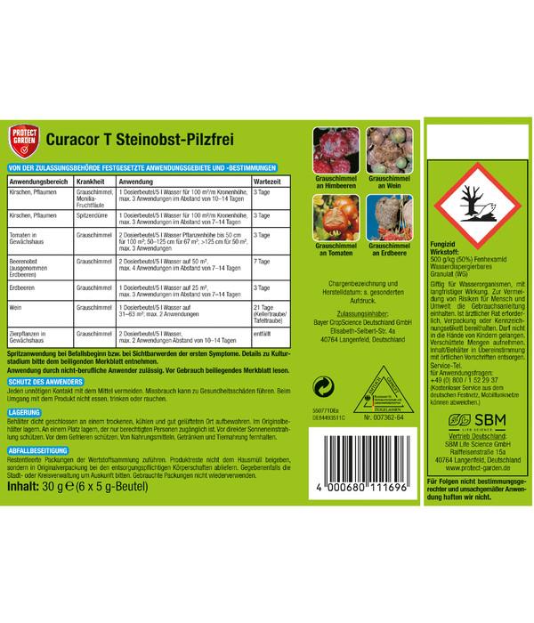 PROTECT GARDEN Curacor T Steinobst-Pilzfrei, 30 g