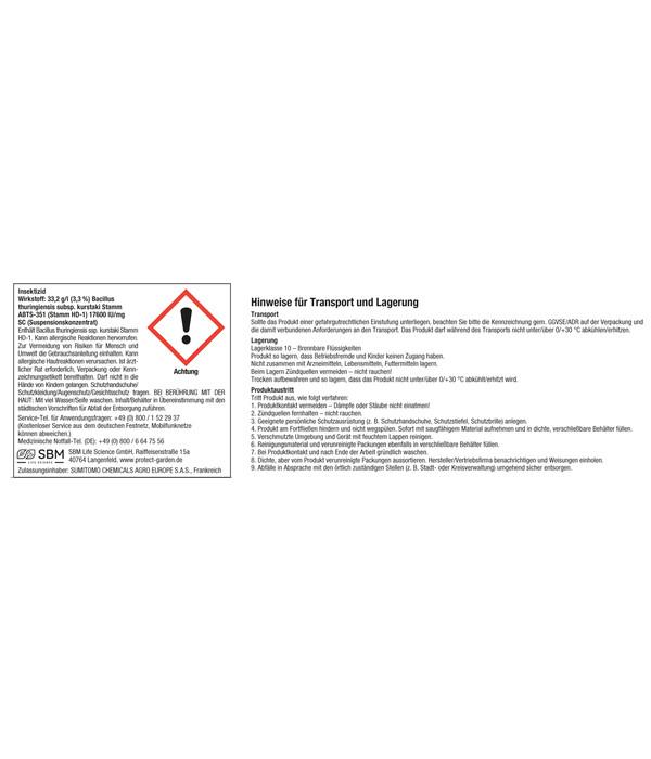 PROTECT GARDEN Universal-Raupenfrei Lizetan®, 9 ml