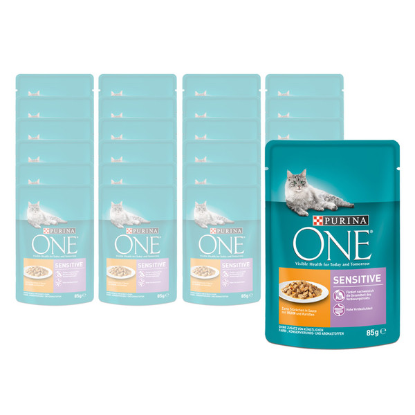 PURINA ONE® Nassfutter Sensitive