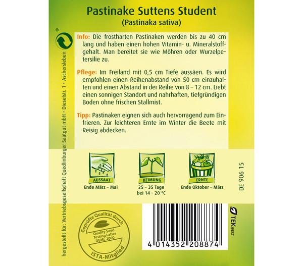 Quedlinburger Samen Pastinake 'Suttens Student'