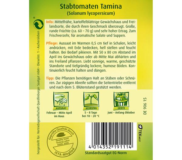 Quedlinburger Samen Stabtomate 'Tamina'