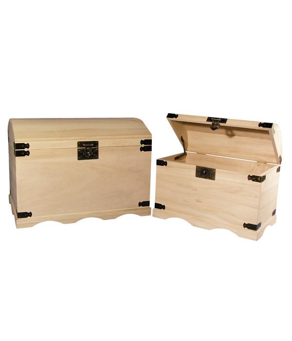 Rayher Holz-Truhen-Set, 2 Größen