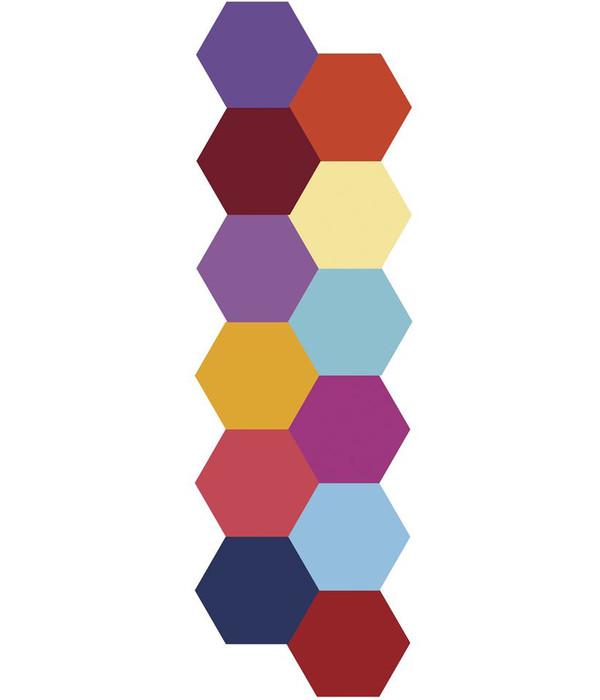 Rayher Künstler-Marker Spectrum Aqua Primary, 12 Farbstifte