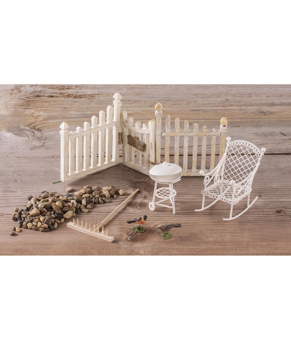 Rayher Mini-Gardening-Set Summertime, 8-teilig