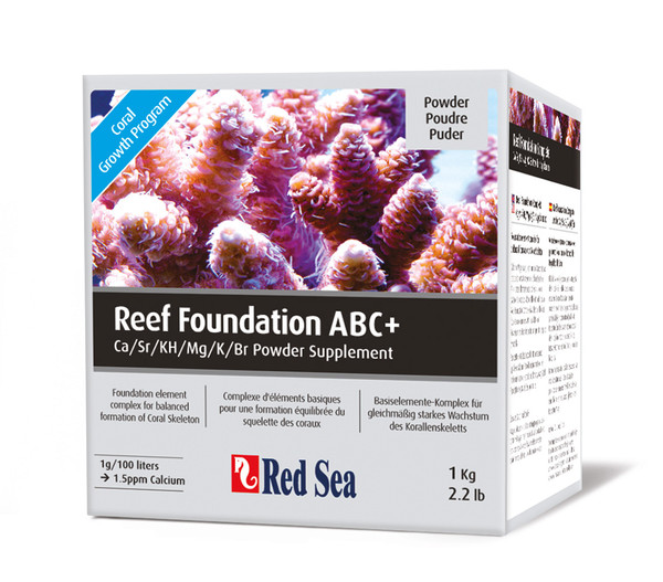 Red Sea Reef Foundation ABC+, 1 kg