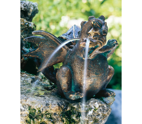 Rottenecker Bronzefigur Drache Missy