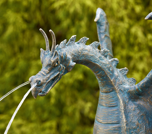 Rottenecker Bronzefigur Drache Saphira