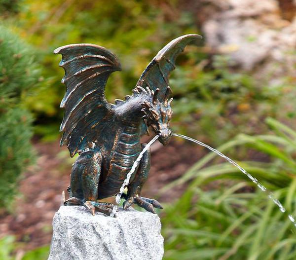 Rottenecker Bronzefigur Drache Terrador