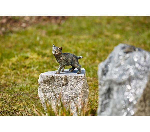 Rottenecker Bronze-Katze jung, stehend
