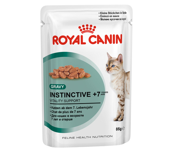 ROYAL CANIN® Nassfutter Instinctive +7, 12 x 85g