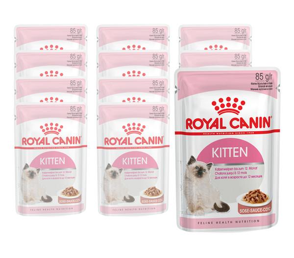 ROYAL CANIN® Nassfutter Kitten, 12 x 85g
