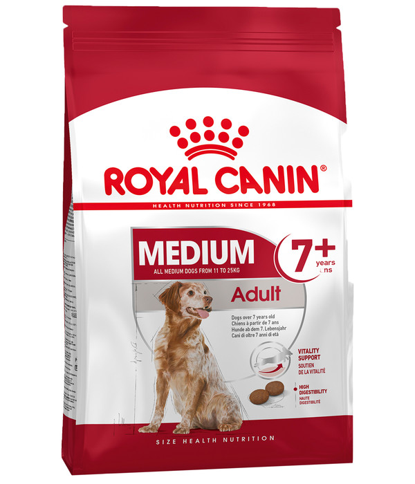 ROYAL CANIN® Trockenfutter Medium 7+ Adult