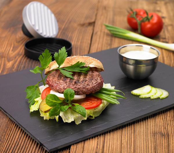 Rösle Burgerpresse, 4,7 x 12 x 19 cm