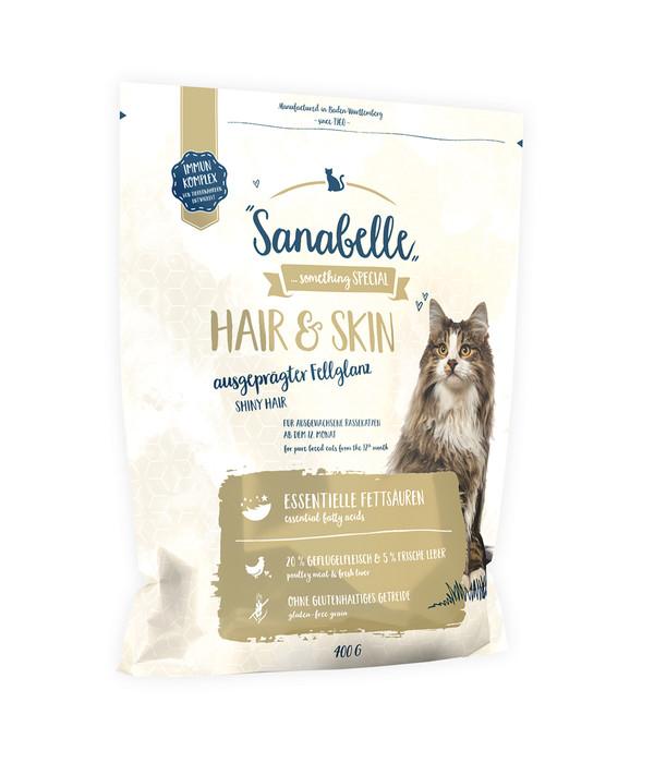 Sanabelle® Trockenfutter Hair & Skin, 400g