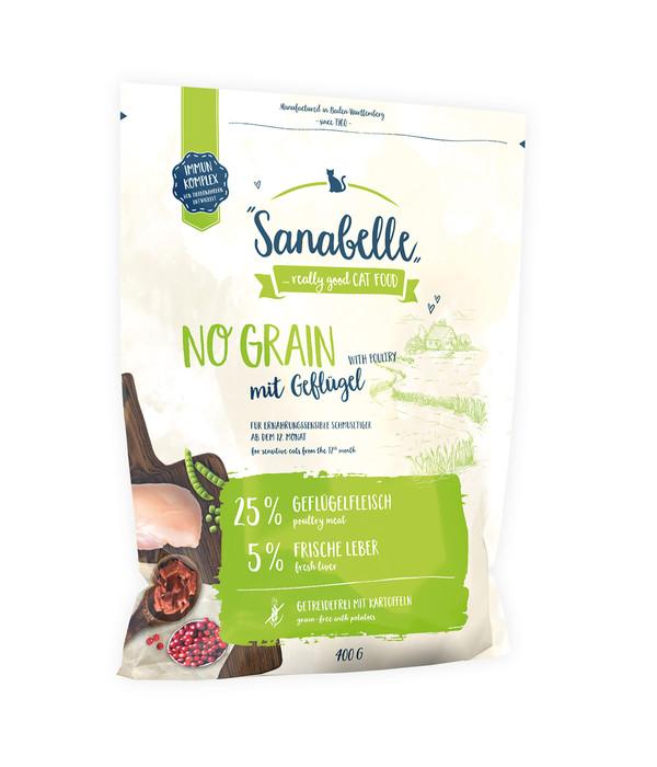 Sanabelle Trockenfutter No Grain Geflügel, 400 g