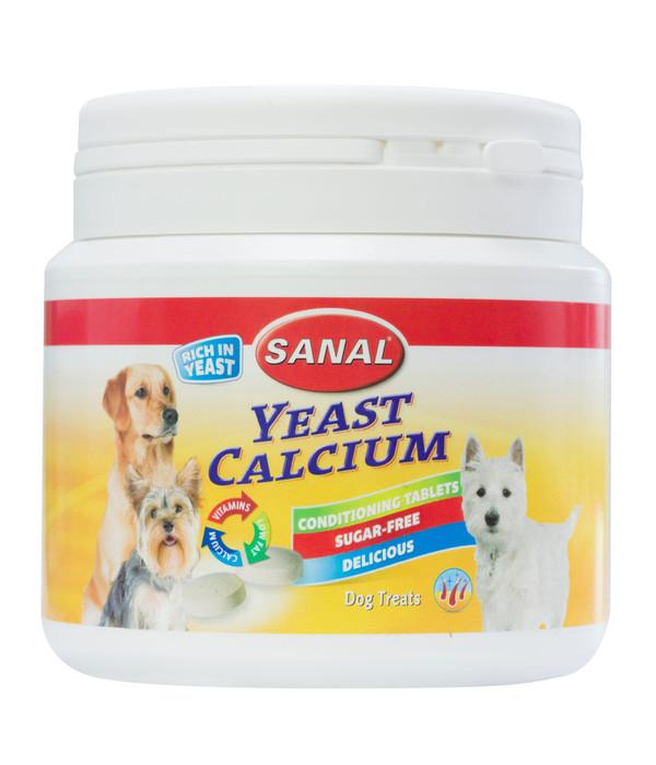 SANAL Ergänzungsfutter Hefe & Calcium Tabletten