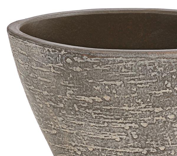 Schale, Jardiniere aus Keramik, oval
