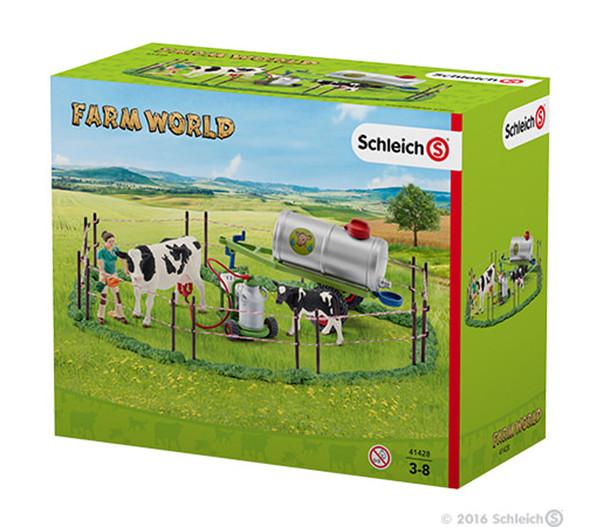 Schleich Kuhfamilie auf der Weide