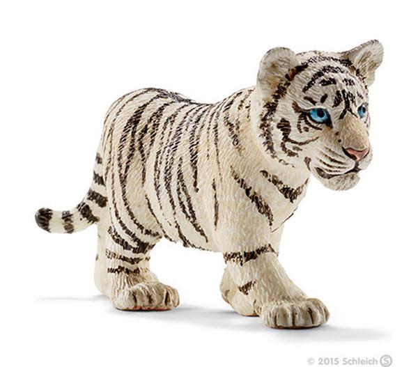 Schleich Tigerjunges, weiß
