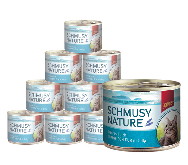 Schmusy Nature Nassfutter, 12x185 g
