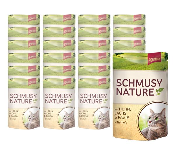 Schmusy Nature Nassfutter, 24x100 g