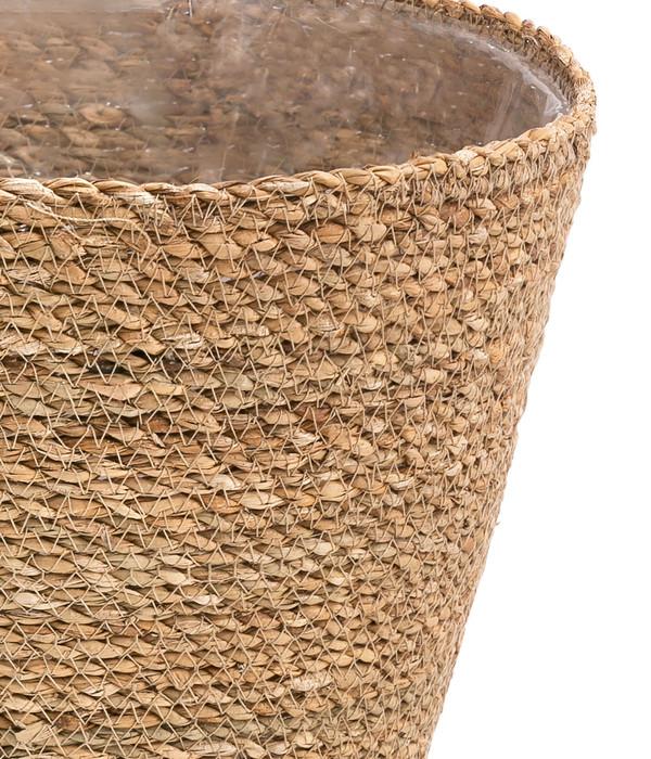 Seegras-Korb 'Igmar', braun