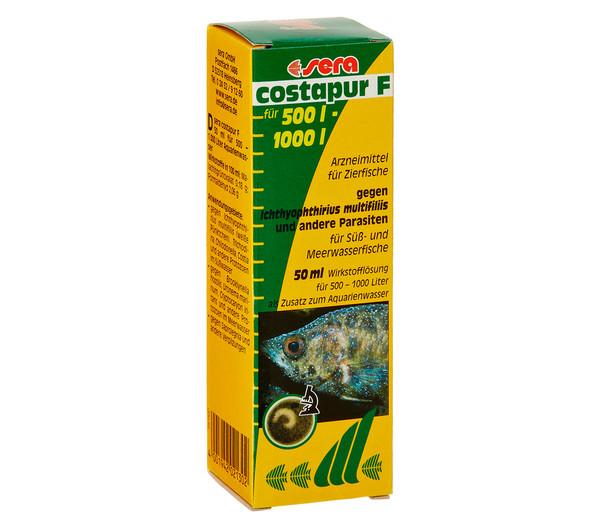 sera costapur F Arzneimittel für Fische, 50 ml