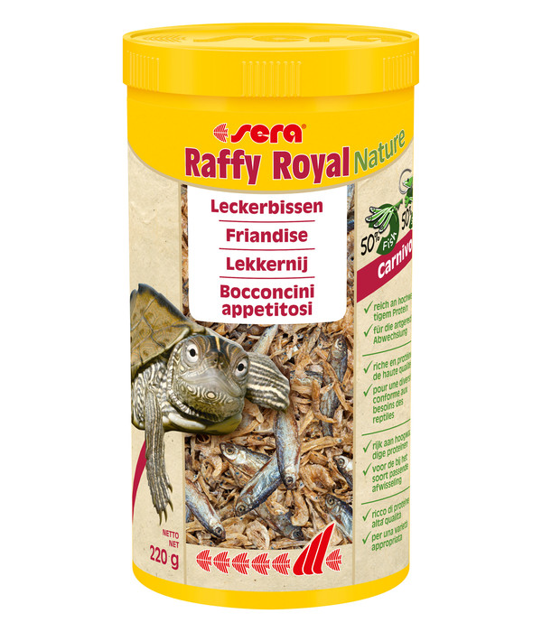 Sera Schildkrötenfutter Raffy Royal Nature
