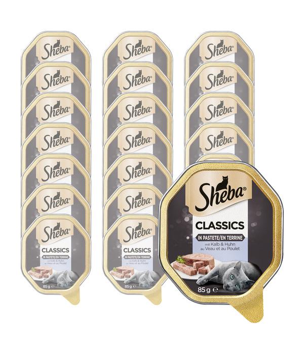 Sheba® Classics Nassfutter in Pastete, 22 x 85g
