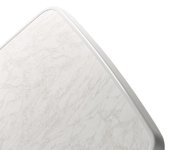 Sieger Boulevard-Klapptisch mit mecalit-PRO®-Platte, 70 x 70 cm