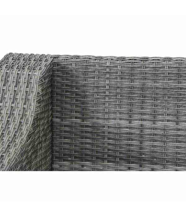 Siena Garden Element Navaro, 2-Sitzer rechts, 149 x 81 x 77 cm, sigra/grau
