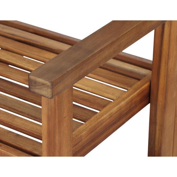 Siena Garden Klappbank Lovera, 2-Sitzer