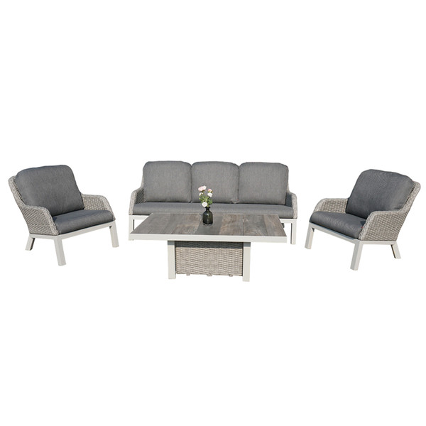 Siena Garden Loungebank Sanero, 3-Sitzer