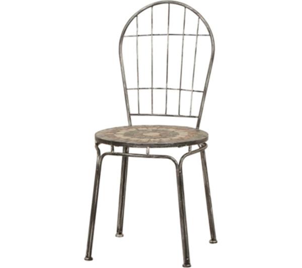 siena garden stapelstuhl felina silber schwarz dehner. Black Bedroom Furniture Sets. Home Design Ideas