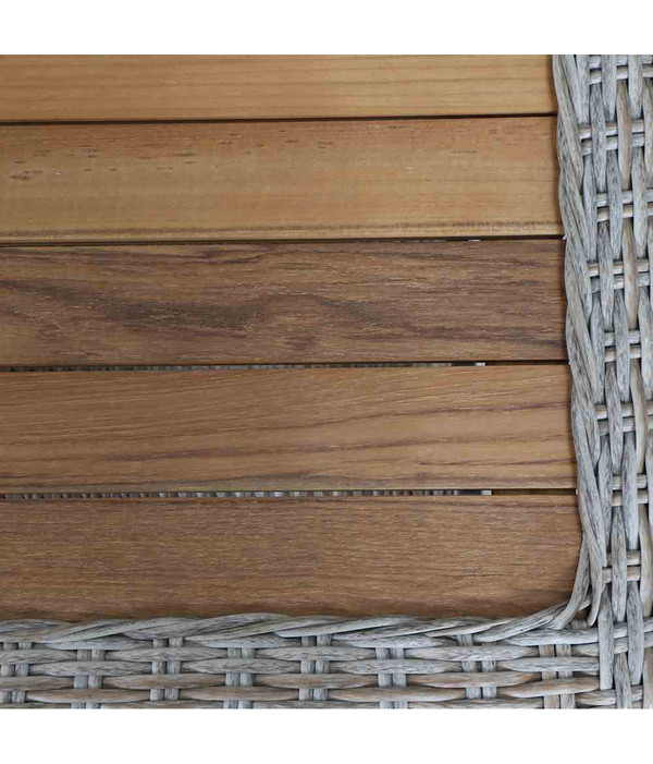 Siena Garden Tisch Almada, 60 x 110 x 45 cm, oak-grey