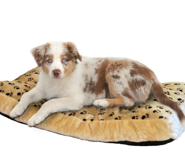 SILVIO design Hundebett Silvio mit Pfotenmuster