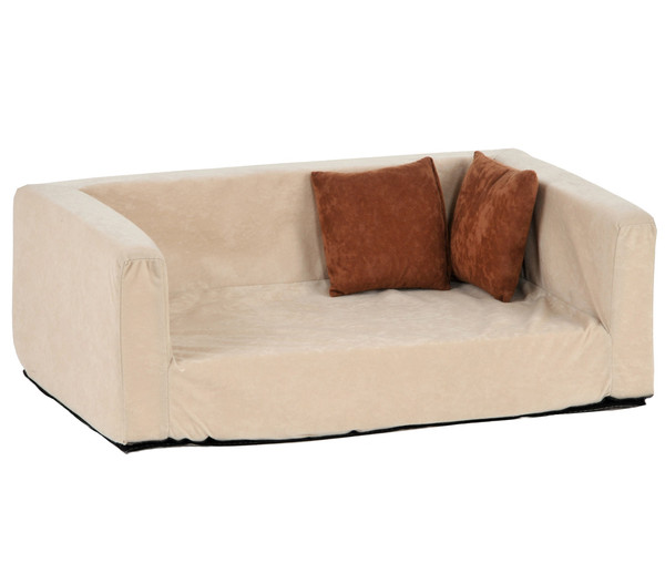 "Silvio Design Hundesofa ""Buddy"", Velour-Optik"