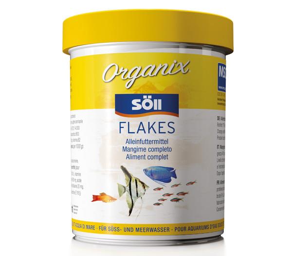 Söll Organix Flakes, Fischfutter