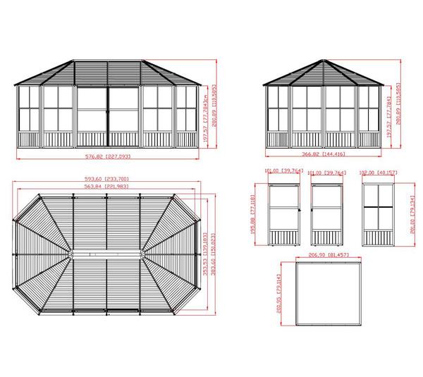 Sojag Pavillon Charleston