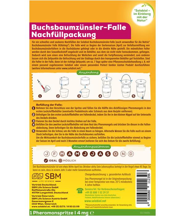 Solabiol® Buchsbaumzünsler-Falle Nachfüllpackung, 1 Stück