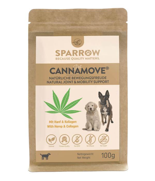 SPARROW Pet Ergänzungsfutter CannaMove® für Hunde