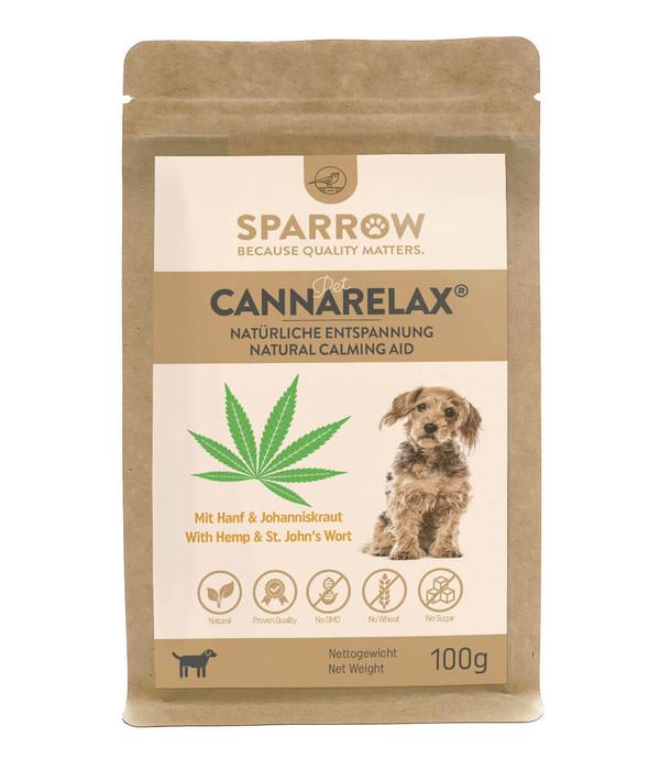 SPARROW Pet Ergänzungsfutter CannaRelax® für Hunde