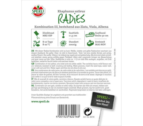 SPERLI Saatband Radies 'Kombination III'