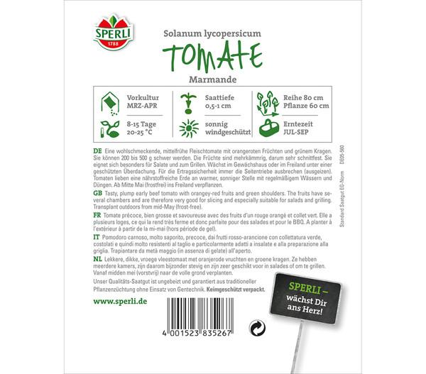 SPERLI Samen Tomate 'Marmande'