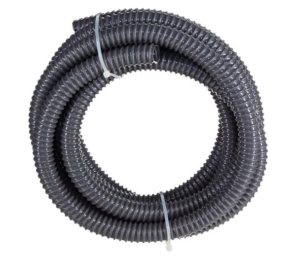Spiralschlauch schwarz, 4 m