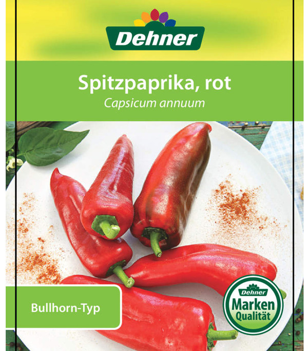 Spitzpaprika, rot